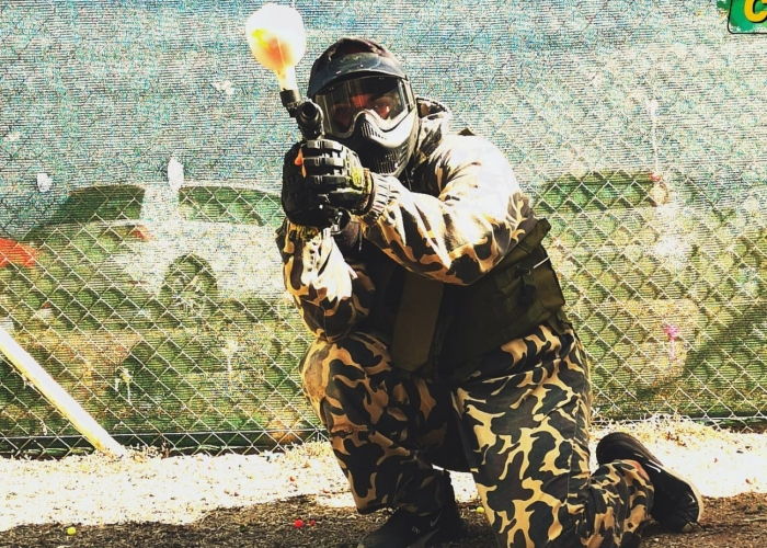Adrenaline-packed Paintball action for you and your friends