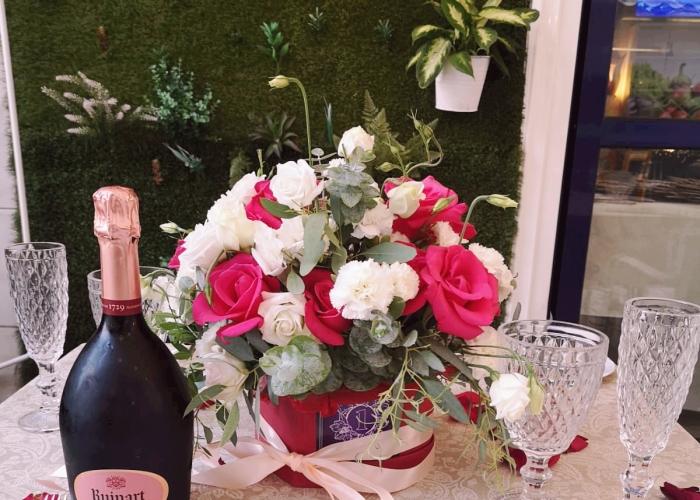 Cena romántica de degustación con maridaje de vinos en Los Cristianos