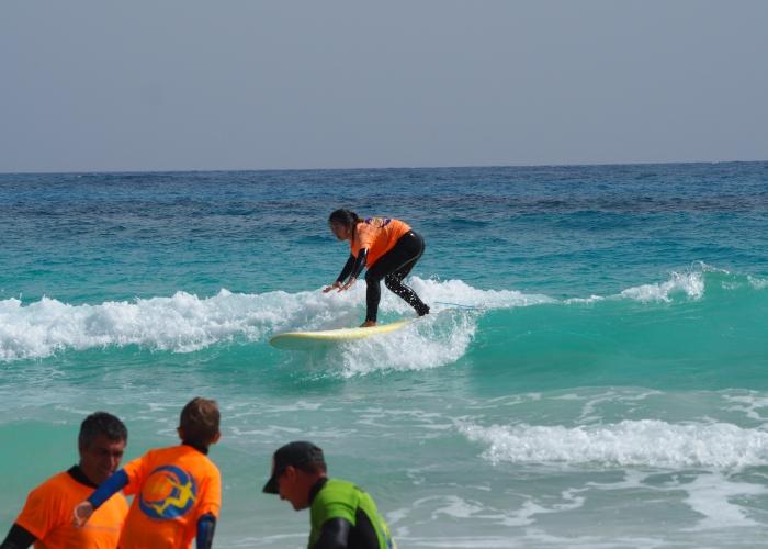 Clases de Surf para todos los niveles en Fuerteventura