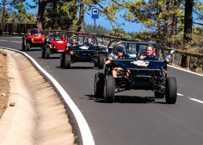 Da una vuelta en buggy en este Teide Express Tour