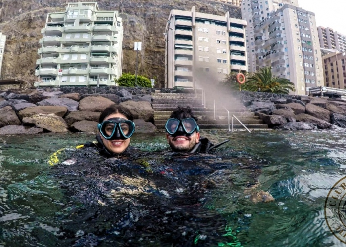 Discover scuba diving with your first dive course