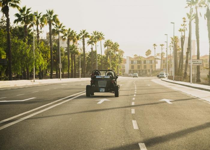 Disfruta de la costa soleada del sur de Tenerife en el buggy tour Costa Rush