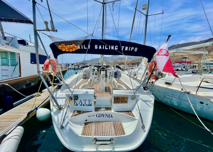 Enjoy a sailboat trip in the waters of Fuerteventura