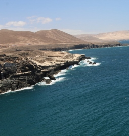 Experience a breathtaking hike along Fuerteventura`s wild coasts
