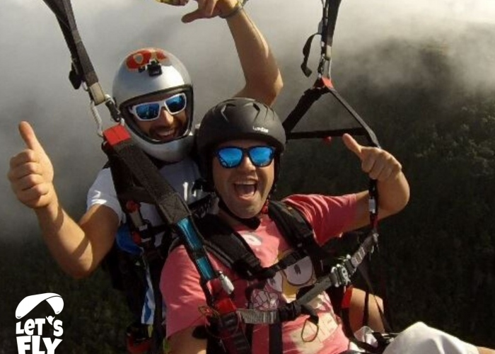 Experience one of the highest paragliding flights in Europe