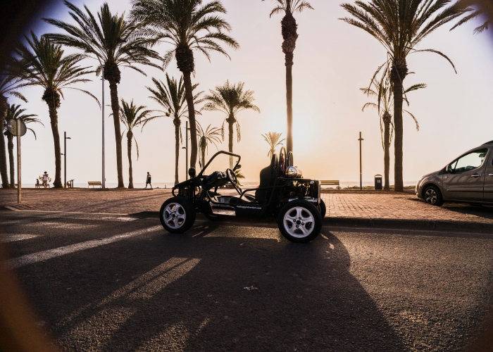 Experience the sunny south coast of Tenerife in the Costa Rush buggy tour