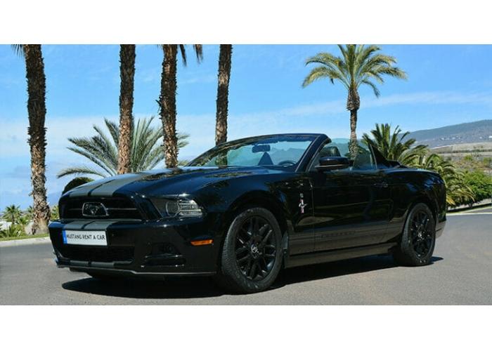 Explora Tenerife a tu manera en un Ford Mustang Classic 2014