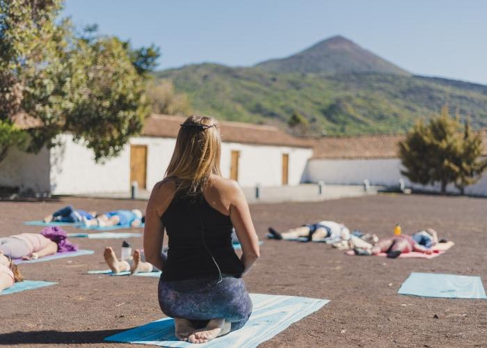 Fin de semana relax con yoga en plena naturaleza