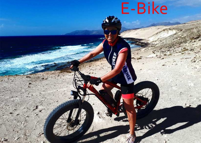 Guided E-Bike Tour in the south of Fuerteventura