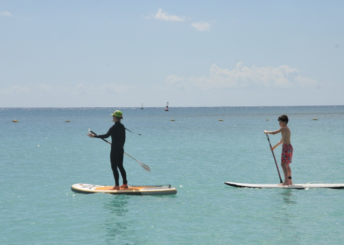 Learn how to Stand Up Paddle in the clear waters of Fuerteventura