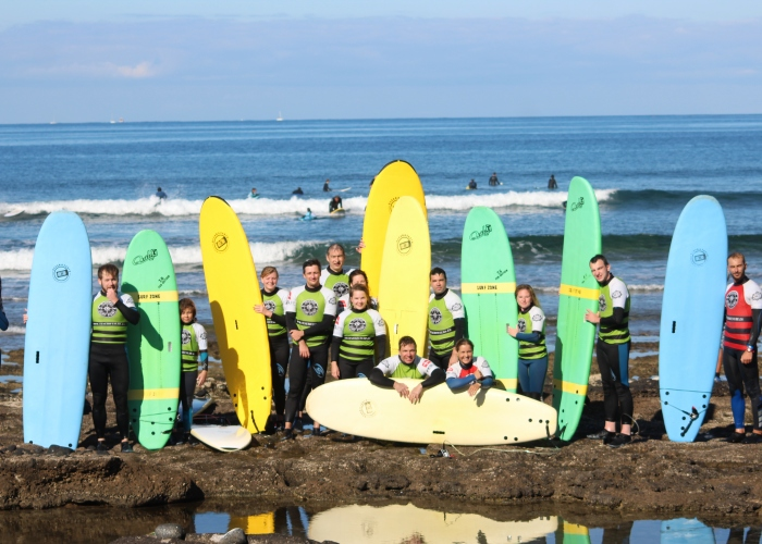 Learn how to surf in the sunny south of Tenerife