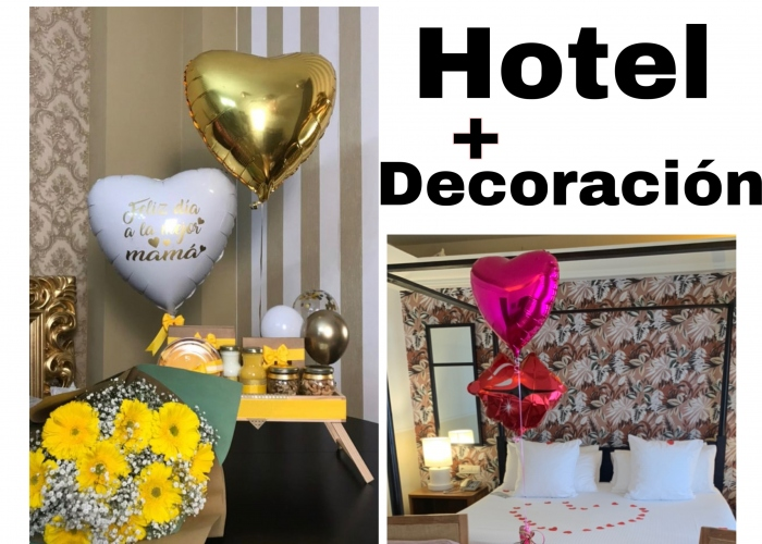 Night in a great hotel with personalized decor