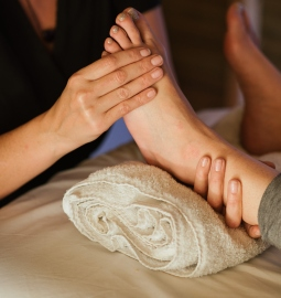 Private holistic foot massage with Shiatsu and Reflexology