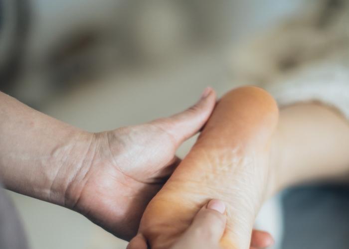 Private holistic foot massage with Shiatsu and Reflexology