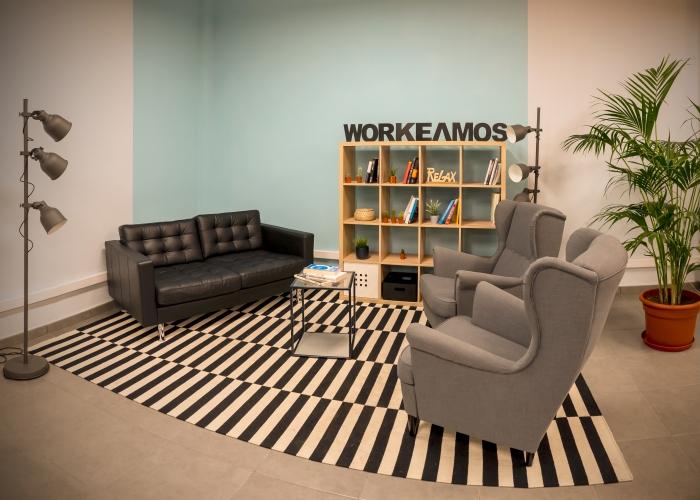Prueba trabajar de una manera diferente en este moderno espacio de coworking