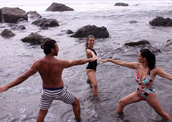 Prueba una forma nueva de deporte y relajación acuática con Wateryoga