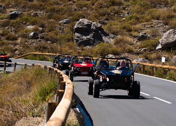 Recorre lo mejor de Tenerife y del Teide en un paseo en Buggy aventurero