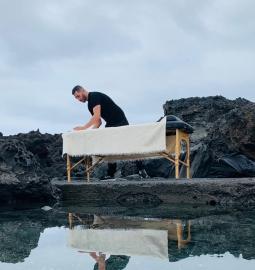 Relájate profundamente con un masaje terapéutico profesional a domicilio