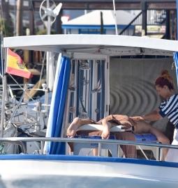 Retiro saludable en un barco en Lanzarote