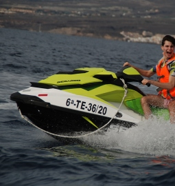 Ride on a Jet Ski in Las Galletas