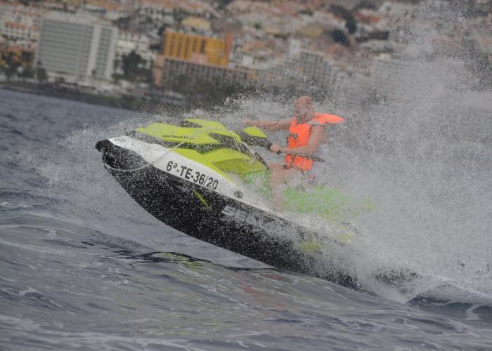 Ride on a Jet Ski in Las Galletas