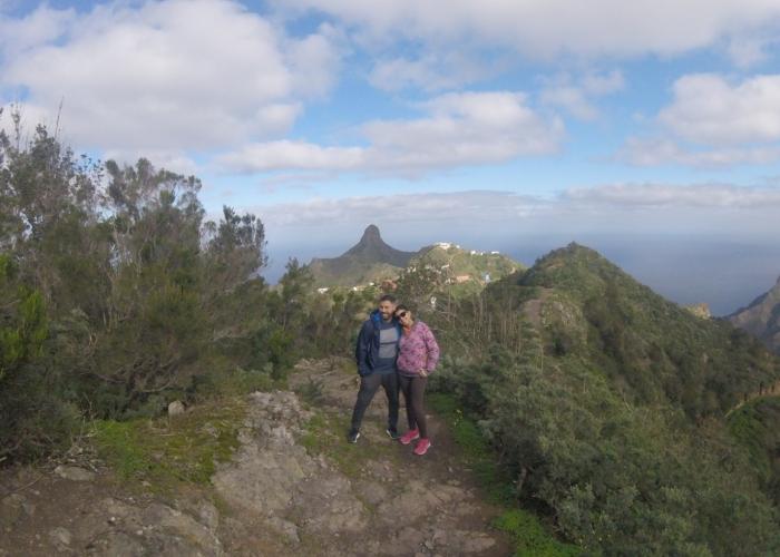 Ruta espectacular de senderismo en Anaga