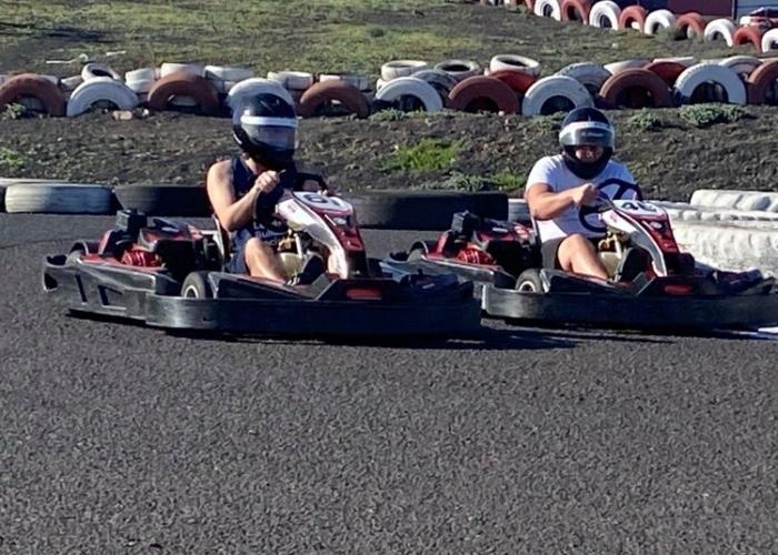 Siente la adrenalina en Lanzarote Karting