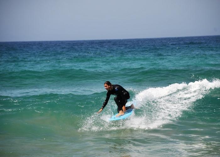 Surf classes for all levels in Fuerteventura