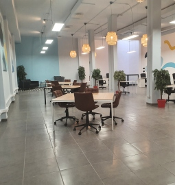 Try out a different work experience in this modern coworking space