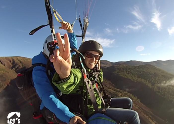 Vea Tenerife desde el cielo en uno de los vuelos en parapente con mayor desnivel de Europa