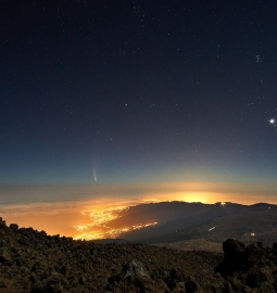 Ver el amanecer desde lo más alto con una caminata al pico del Teide