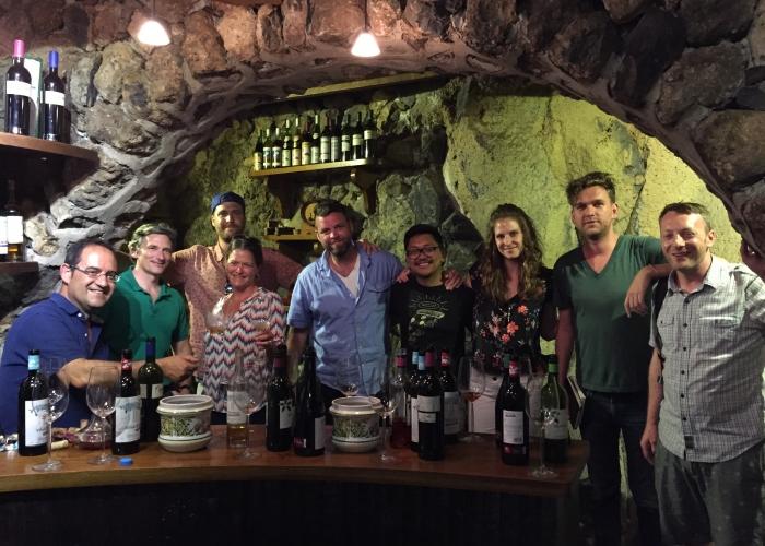 Visita guiada a un viñedo y bodega, con cata de vinos en el norte de Tenerife