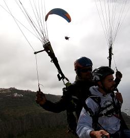 Vuelo Acrobatico Emocionante: Nada para los de corazón débil